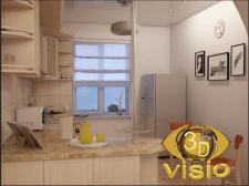 3D-визуализация кухни в Киеве